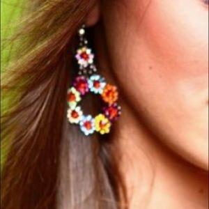 Jewelry - Multi color earrings